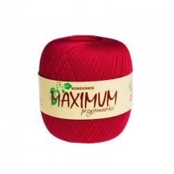 Kordonek Maximum Czerwony 1554