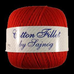 Cotton Fillet Czerwony 030