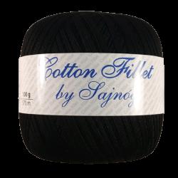 Cotton Fillet Czarny 099