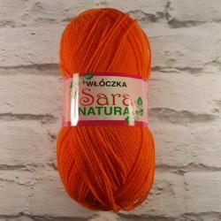 Włóczka Sara Natura Oranż 53