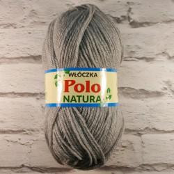 Włóczka Polo Natura Szary 804