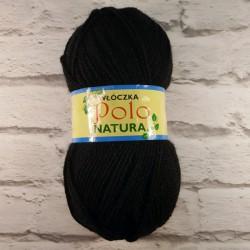 Włóczka Polo Natura Czarny 30