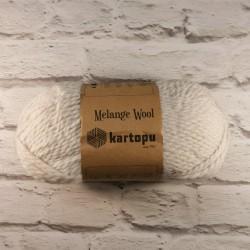 Włóczka Melange Wool Jasny...