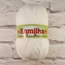 Włóczka Kamilka Biały 1 - 2200