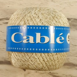Kordonek Cable 5 Biały Ze...