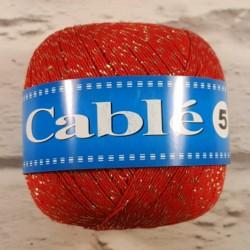 Kordonek Cable 5 Czerwony...