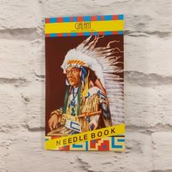 Karnet igielny Indianin