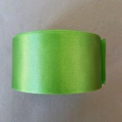 Atłas szer.50mm zielony -...