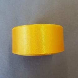 Atłas szer.38mm żółty -...