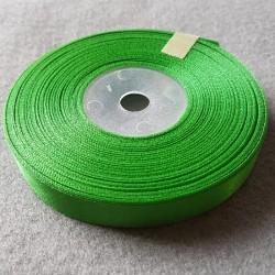 Atłas szer.12mm zielony -...