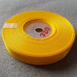 Atłas szer.12mm żółty -...