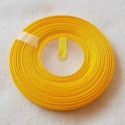 Atłas szer.6mm żółty -...