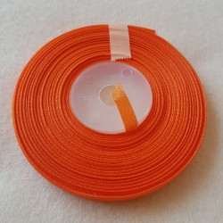 Atłas szer.6mm pomarańczowy...