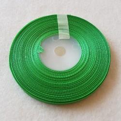 Atłas szer. 6mm zielony -...