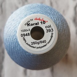 Kordonek Koral 10 niebieski...