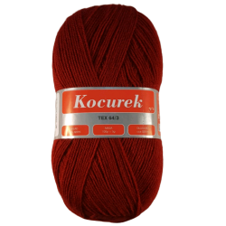 Włóczka Kocurek Bordo 34- 2223