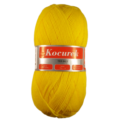 Włóczka Kocurek Żółty 33- 2226