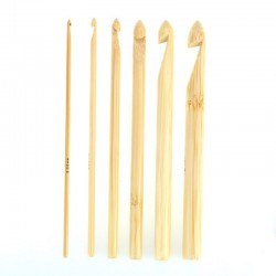 Szydełko bambusowe