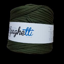 Włóczka Spaghetti Zielony