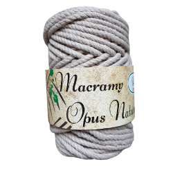 Macramy Opus Natura beż 4mm