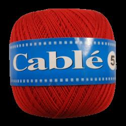 Kordonek Cable 5 Czerwony 08