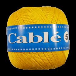 Kordonek Cable 5 Żółty 181