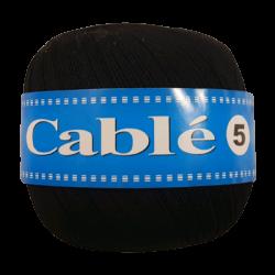 Kordonek Cable 5 Czarny 501