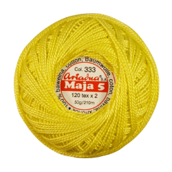 Kordonek Maja 5 Żółty 333