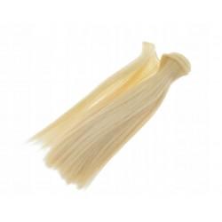 Włosy do lalek - blond
