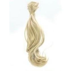 Włosy do lalek kręcone - blond