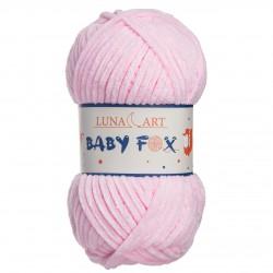 Baby Fox Luna Art - róż 100-04