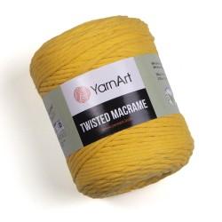 Twisted Macrame Żółty 764