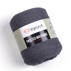 Twisted Macrame Szary 790