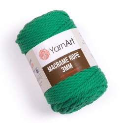 Macrame Rope 3mm zielony 759