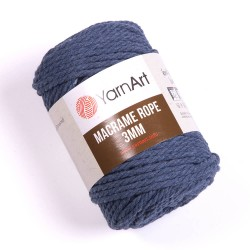 Macrame Rope 3mm jeans 761