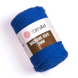 Macrame Rope 3mm niebieski 772