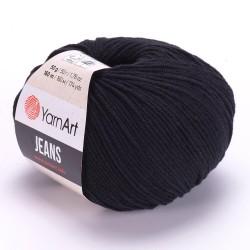 Jeans Czarny 53