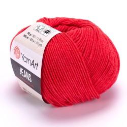 Jeans Czerwony 26