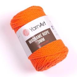 Macrame Rope 3mm neon oranż...