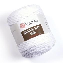 Macrame Rope 5mm biały 751
