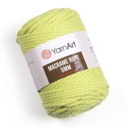 Macrame Rope 5mm seledyn 755