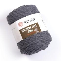 Macrame Rope 5mm szary 758