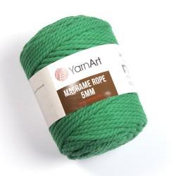 Macrame Rope 5mm zielony 759