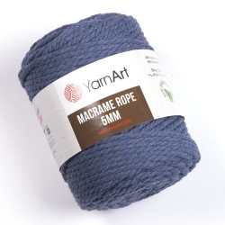 Macrame Rope 5mm jeans 761
