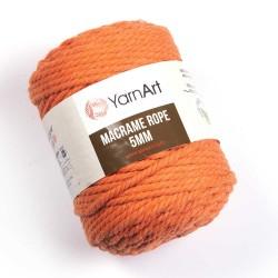 Macrame Rope 5mm oranż 770