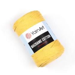 Macrame Cotton Żółty 764