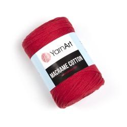 Macrame Cotton Czerwony 773