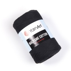 Macrame Cotton Czarny 750