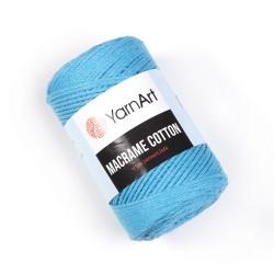 Macrame Cotton Turkus 763