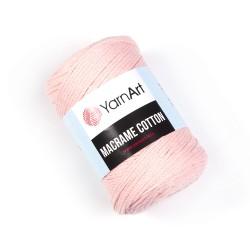 Macrame Cotton Łosoś 767